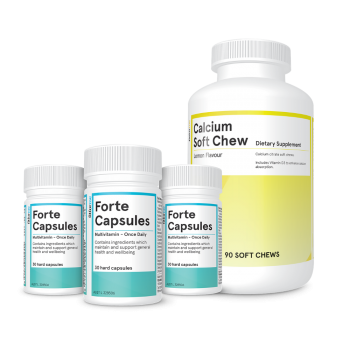 Forte capsules package