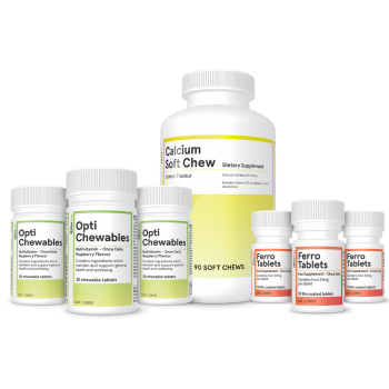 Opti chewables package